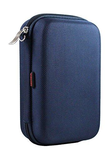 Navitech dunkelblau EVA Abdeckung / Koffer / Reisekoffer für Poweradd Slim2 5000mAh Portable Charger Power Bank