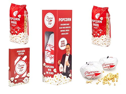 Popcornloop - Das Original Popcornmaschine XXL MEGA Paket Sparpreis!