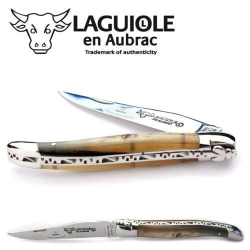 Laguiole en Aubrac L0212BEIF - Navaja 12 cm