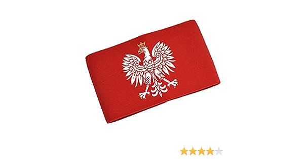 FanShirts4u Kapit/änsbinde Spielf/ührerbinde Polen rot Junior Senior