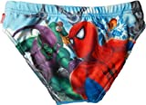 Spiderman Badehose - gegen den Rest Welt Blau