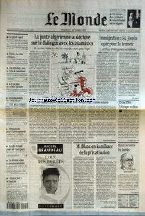 MONDE (LE) [No 16362] du 05/09/1997 - LE...