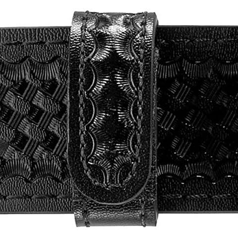 Safariland Duty Gear Hidden Snap Belt Keeper (Basketweave Black) by Safariland Duty Gear