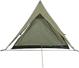10T Camping-Zelt Poneto 2 Trekkingzelt mit Schlafkabine für 2 Personen Outdoor Hauszelt mit eingenähter Bodenwanne, Firstzelt mit Dauerbelüftung, wasserdicht mit 5000mm Wassersäule