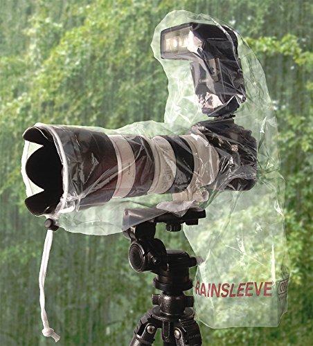 Optech USA - Protezione antipioggia/povere per macchine fotografiche, colore: Trasparente