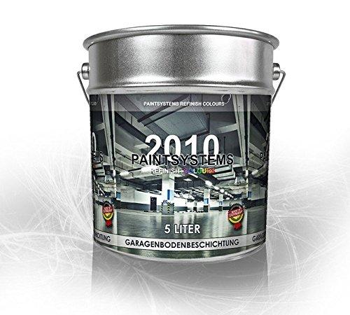 Preisvergleich Produktbild Garagenbodenbeschichtung Garagenbodenfarbe Betonfarbe Garagenboden PU 5 Liter RAL WUNSCHFARBTON