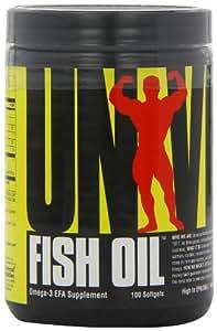 Universal Nutrition Fish Oil - 100 Softgels