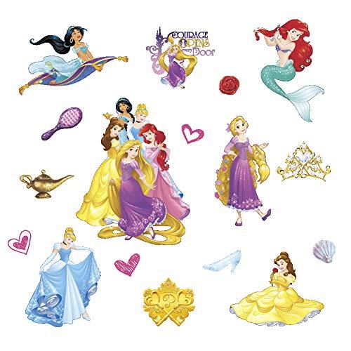 Smart Art Disney Princess Wall Stickers Wall Decals Wanddekorationen Tapete DIY-Design