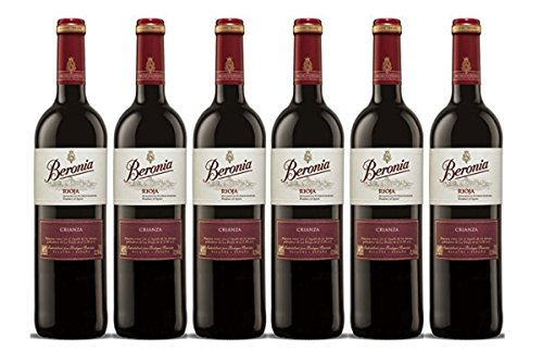 Beronia Crianza - Vino D.O.Ca. Rioja - 6 Botellas De 750 Ml - Total: 4500 Ml