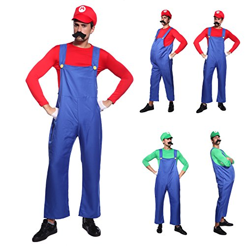 Imagen de cle de tous  disfraz de mario bros para adulto hombre cosplay dress fiesta carnaval halloween talla m 40 l 42  talla l 42
