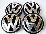 Lot de 4 caches moyeux Volkswagen