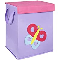 FABELBUNT® Caja para juguetes con diferentes motivos colorido (37x 30x 26cm)