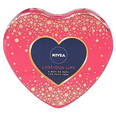 NIVEA Luscious Lips Gift pack, 4 full size lip balms from Beiersdorf