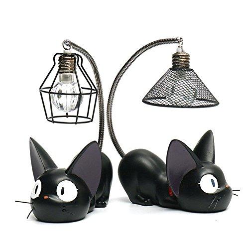Cat Lampe Chat Noir Chat Mignon Étudiant Bureau Chambre Étude Lumière,A+B