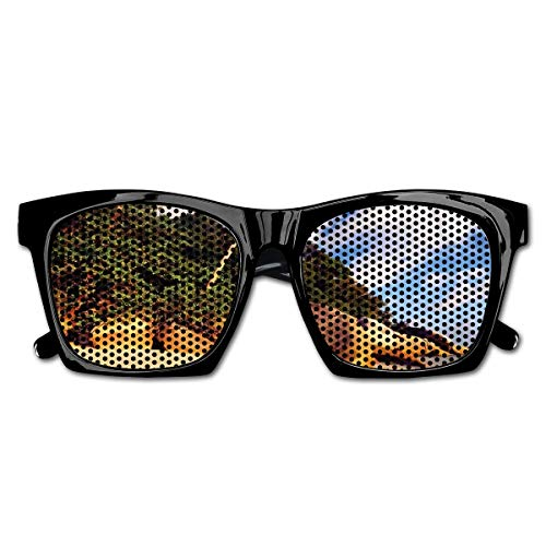 Vogue Vintage Rock (Mesh Sunglasses Sports Polarized, Tropical Beach Serenity In Nature Exotic Fruit Coconut Rock Seascape Print,Fun Props Party Favors Gift Unisex)