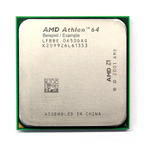 AMD Athlon 64 3000+ 2.0GHz/512KB Sockel/Socket 754 ADA3000AEP4AP CPU Processor (Zertifiziert und Generalüberholt)