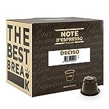 Note D'Espresso Deciso Caffè in Capsule Compatibili con Sistema Nespresso - 560 g (100 x 5.6 g)