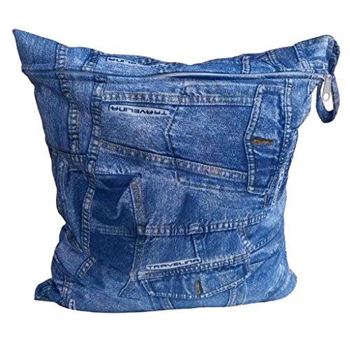 Koly La bolsa de orina bebé impermeable especial sola cremallera bolsa de almacenamiento, 11 colores,G