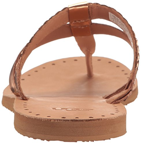 UGG Australia Audra, Tongs Femme Multicolore (Rose Gold)