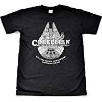 Millennium Falcon Owners Club Novelty Gift T Shirt