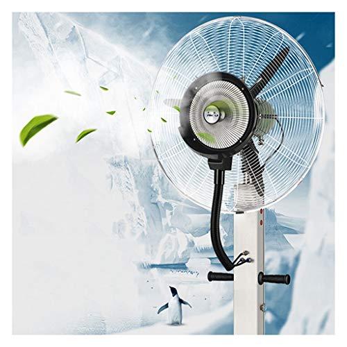 Ventilador Nebulizador Soporte de Pedestal Comercial Ventiladores Ventilador de Niebla Grande Ventilador...
