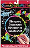 "Melissa & Doug 15917 ""3360"" Scratch Magic Draw and Learn Dinosaur Craft"