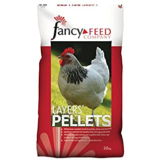 Fancy Feeds Layers Pellets Complete Poultry Feed, 20 kg