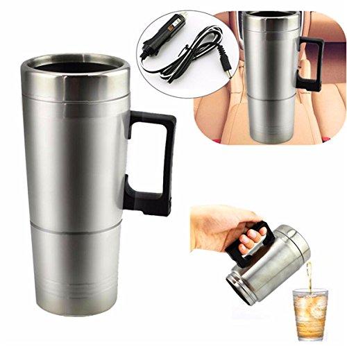 Preisvergleich Produktbild GOZAR 12 V 300 Ml Tragbare In Auto Kaffeemaschine Teekanne Fahrzeug Thermos Heizung Tasse Deckel