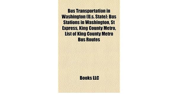 Amazon in: Buy Bus Transportation in Washington (U S  State