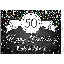 Suchergebnis Auf Amazon De Fur Geburtstagskarte Gross 50