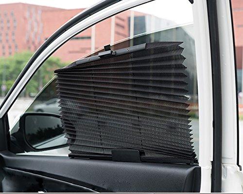 HJJH Sonnenschutz auf der Seite der Auto automatisch passt die Schatten der ausziehbar Fenster zu halten das Auto kühl und verhindern UV-Strahlen.