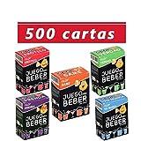 Glop 500 Cartas - Juego para Beber - Juegos de Beber para Fiestas