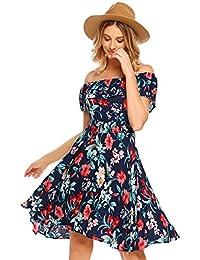 f183306f56fb Amazon.it  Fantasia - Vestiti   Donna  Abbigliamento