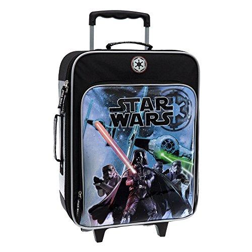 Star Wars Valise Bagage Cabine, 50 cm, 26 L, Noir