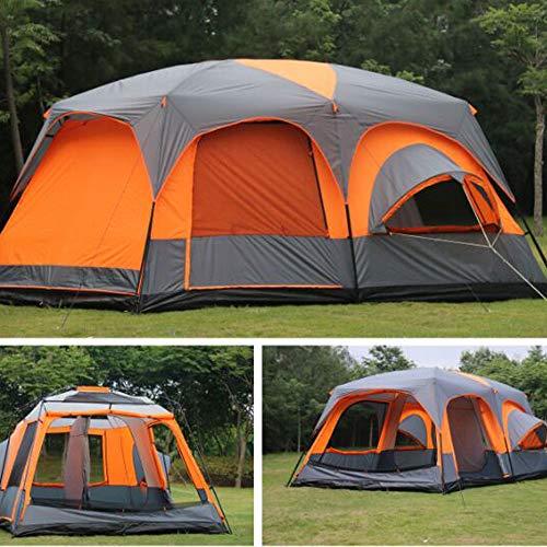 2019 6 8 10 12 Personen 2 Schlafzimmer 1 Wohnzimmer Markise Sonnenschutz Party Familie Wandern Strand Angeln Outdoor Camping Zelt