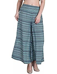 Hipe Indian Ethnic Designer Printed Casual Wear Palazzo Pant For Women's - B0759LC4FM