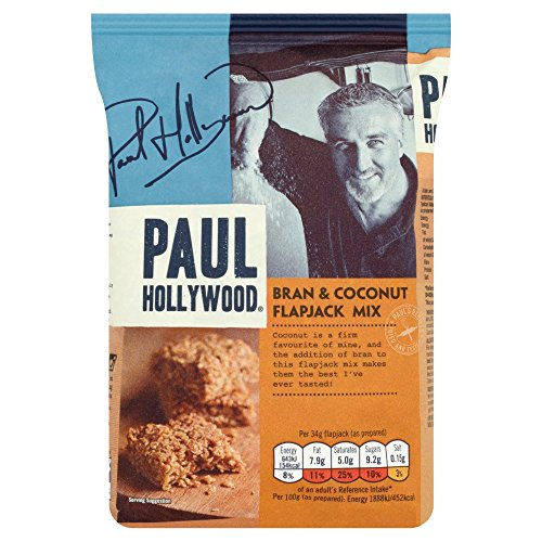 Price comparison product image Paul Hollywood Bran and Coconut Flapjack Mix, 465 g