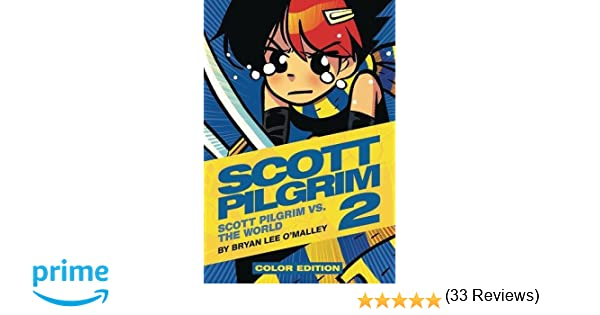 scott pilgrim color hardcover volume 2 vs the world amazoncouk bryan lee omalley nathan fairbairn 8601404269394 books - Scott Pilgrim Books In Color