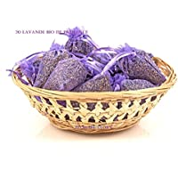 12 Bags of Dried Lavender in Small Organza Bags -Real Flower Wedding Confetti/Home Fragrance/Crafts /Moth Repellant by Soothing Ideas