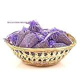 15 Sachets lavande BIO PROVENCE organza violet ou...