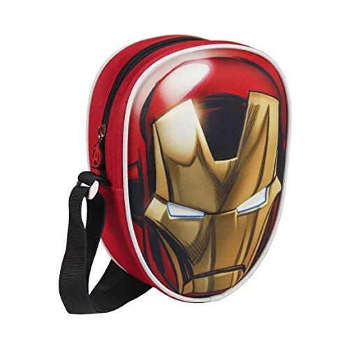 Avengers 2100001665 Iron Man, 18 cm, Rojo