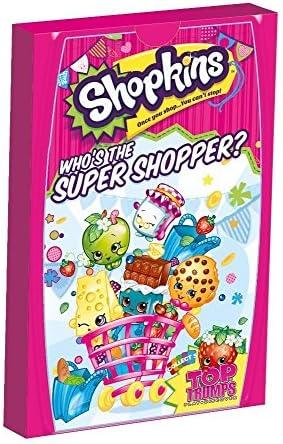 3 X Top Trumps Shopkins Minis Jeu | Grandes Variétés