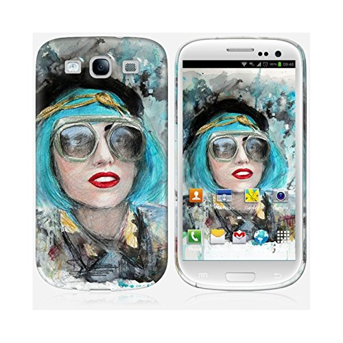 Coque iPhone 6 Plus et 6S Plus de chez Skinkin - Design original : Lady gaga glasses par Denise Esposito Coque Galaxy S3