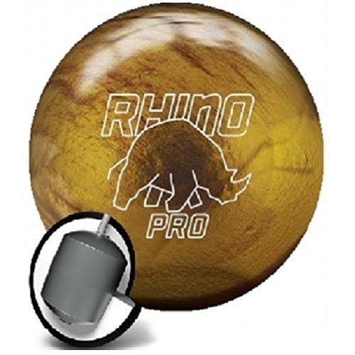Bowlingball Brunswick Rhino Pro Gold reactive (14 Pfund)