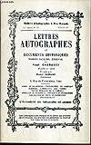 CATALOGUES DE VENTES AUX ENCHERES - BULLETIN D'AUTOGRAPHES A PRIX MARQUES - N°790 - OCTOBRE 1987 - LETTRES AUTOGRAPHES ET DOCUMENTS HISTORIQUES.