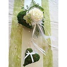 Suchergebnis Auf Amazon De Fur Tischdeko Hochzeit Grun Weiss 2