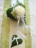 Tischdekoration für ca. 60-80 Pers. grün zur Hochzeit Tischdeko TD0013
