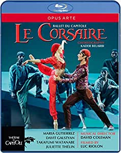 Adam: Le Corsaire [Maria Gutirerrez, Davit Galstyan, Takafumi Watanabe, Juliette Thelin] [Blu-ray] [2014]
