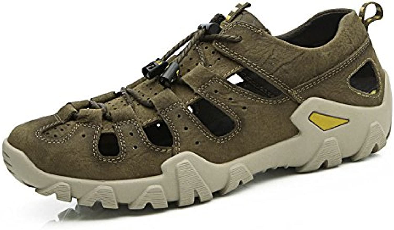 Herren Sandalen Strand Schuhe Fashion Outdoors Herrenschuhe Khaki 43Sandalen Fashion Outdoors Herrenschuhe Khaki 43 Billig und erschwinglich Im Verkauf