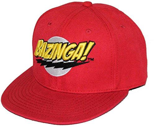 Unbekannt The Big Bang Theory - Logo Bazinga! Kappe - Rot